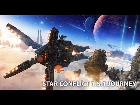Star Conflict. 1.5.1. Масштабное обновление! Краткий стрим-обзор.