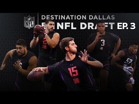NFL Combine All-Access with Josh Rosen, Orlando Brown, & NFL Prospects | Drive to the Draft Ep. 3