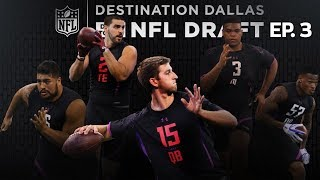 NFL Combine All-Access with Josh Rosen, Orlando Brown, & NFL Prospects   Drive to the Draft Ep. 3