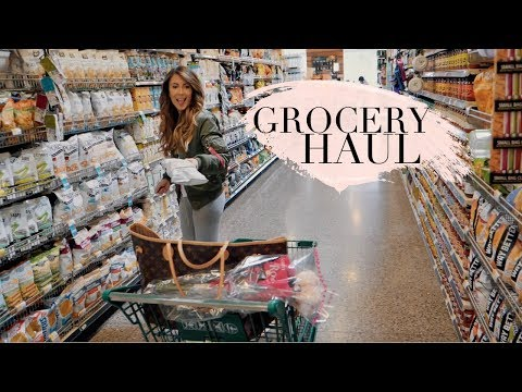 GROCERY HAUL! TRADER JOES, WHOLE FOODS & TARGET