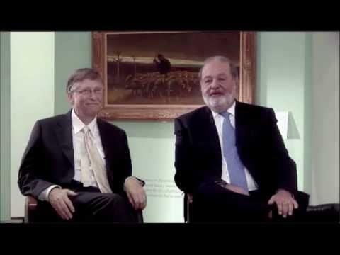 Descargar Video Entrevista Ing. Slim -  Sr. Bill Gates  SM2015