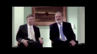 Entrevista Ing. Slim -  Sr. Bill Gates  SM2015