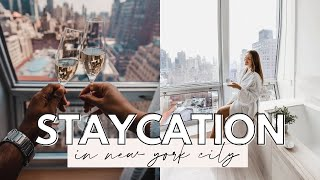 VLOG: NYC Staycation at a  5-Star Luxury Hotel- Dana Berez