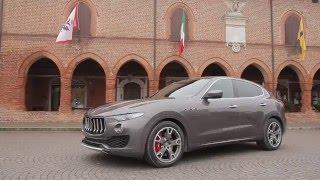 Le SUV de luxe Maserati Levante embarque une imposante calandre