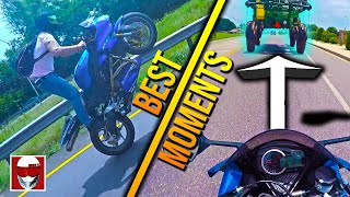 FUNNY MOMENTS, STUPID MOMENTS, WINS, AND EPIC FAILS! BEST MOTO 2019