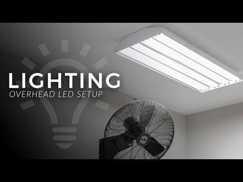 Overhead Garage Led Lighting