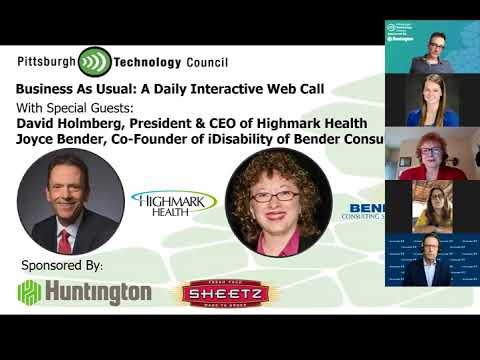 Business as Usual Featuring Highmark Health & Bender Consulting Services