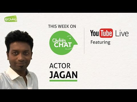Chutney Chat Live with Actor Jagan - Episode #3