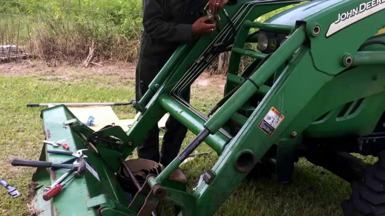Hydraulic Rams For Tractors : Replacing a john deere hydraulic bucket seals youtube