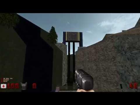 Outpost X (Duke Nukem 3D Mod) (PC) (Come Get Some) Walkthrough