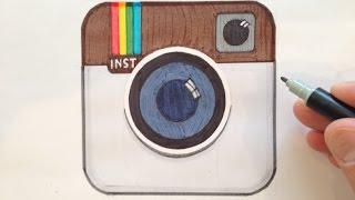 How to Draw the Instagram Logo