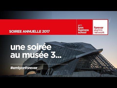 Soirée annuelle des diplômés Lyon 2017