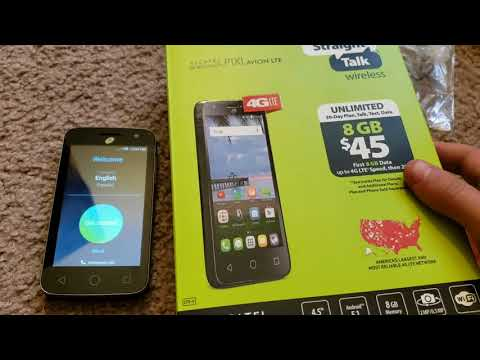 Unboxing The $5 Alcatel OneTouch Pop Nova From Walmart
