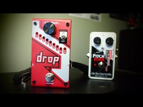 Digitech Drop vs EHX Pitch Fork | Six-String Samurai