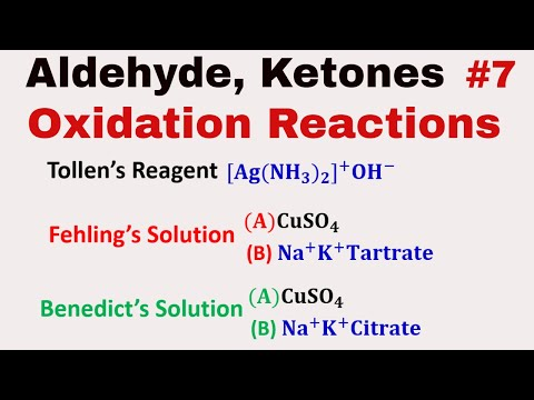 Oxidation Of Aldehyde And Ketones #7| Tollen's Reagent | Fehling & Benedict's Solution|Popoff's Rule