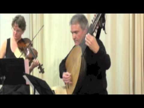 Kapsberger, Viviani - Fulvio Garlaschi théorbe, MG Menanteau violon