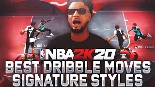 THESE DRIBBLE MOVES MADE ME INTO ISO GOD! BEST SIGNATURE STYLES AFTER PATCH 12 IN NBA 2K20