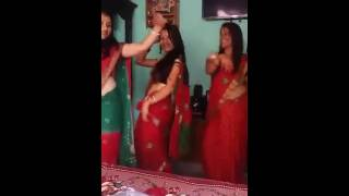 Teej dance of nepali cheli....