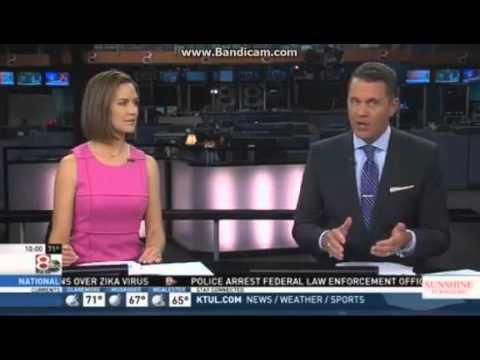 KTUL Tulsa's Channel 8 10PM Open (5/6/16)