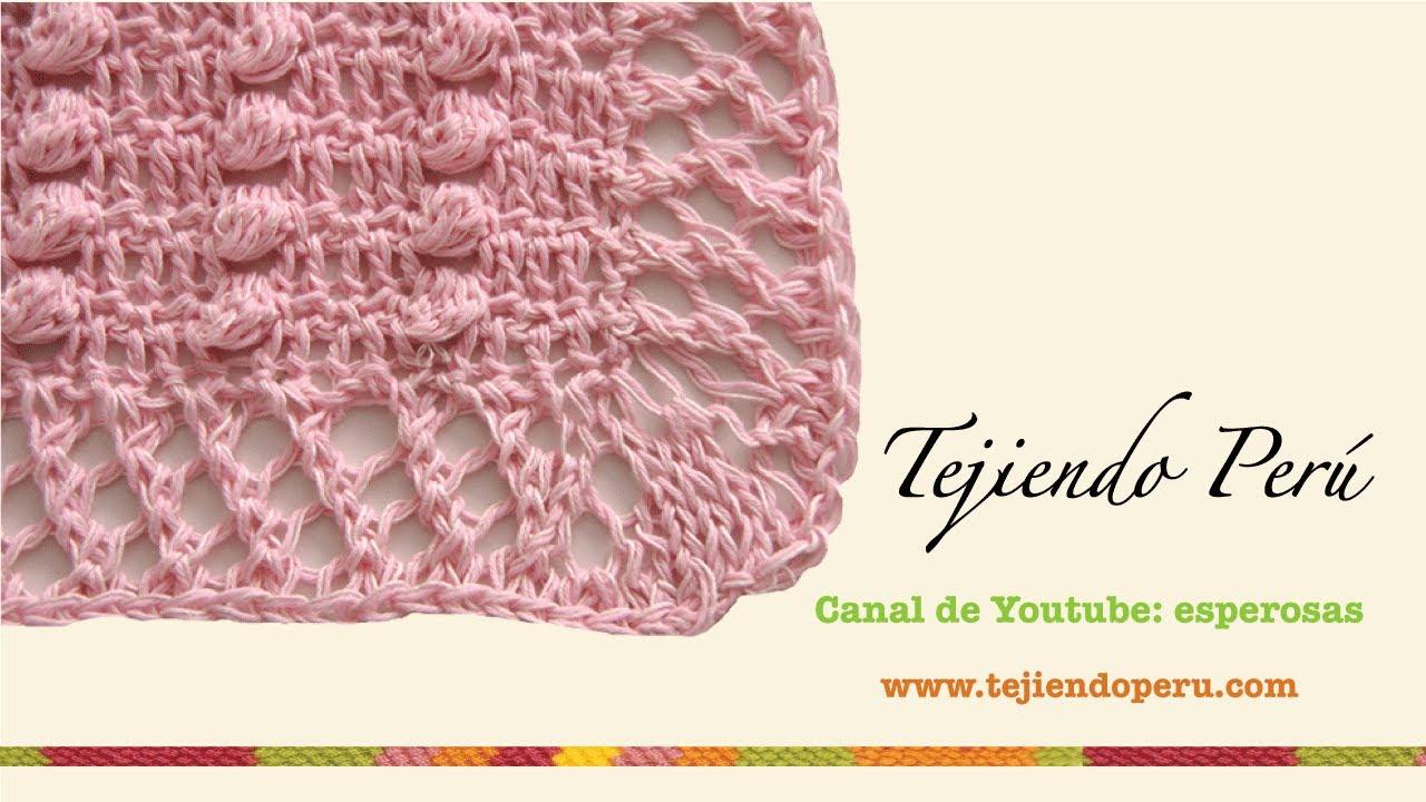 Asombroso Los Patrones De Crochet Manta Bebé Youtube Foto - Manta de ...
