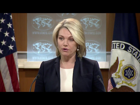 "State Department ""selling the lie to support the crime """