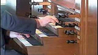 Bach on Flentrop Organ Harvard University Busch Hall