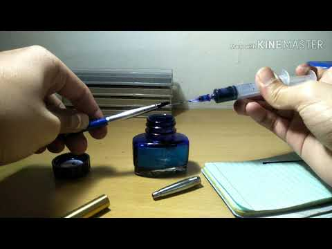 How To Refill Parker Rollerball
