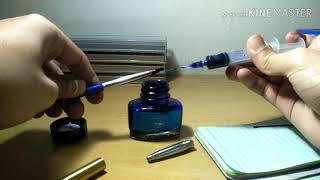 How to refill Paŗker rollerball