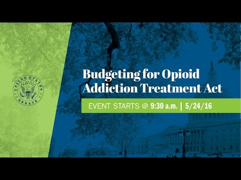Manchin holds a Press Conference to Introduce the Budgeting for Opioid Addiction Treatment Act