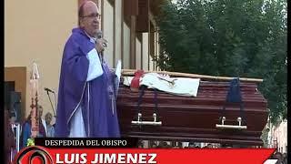 EL HERMANO DE MONSEÑOR DEMETRIO LLEGO DESDE ESPAÑA PARA DESPEDIR LOS RESTOS DE SU HERMANO