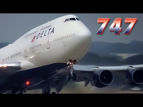 DELTA Retires the Last US Passenger BOEING 747