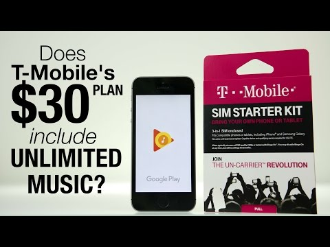 Does T-Mobile's $30 Prepaid Plan Include Unlimited Music Streaming?