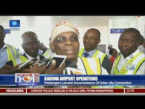Kaduna Airport Operations: Passengers Lament Inconvenience Of Inter City Connection