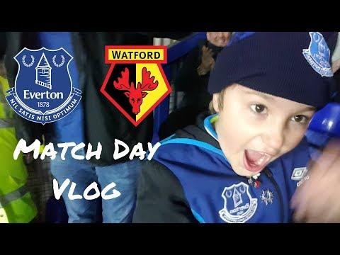 Everton vs Watford WIN WIN WIN Matchday Vlog