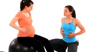 How to Strengthen Your Stomach Muscles | Pregnancy Workout