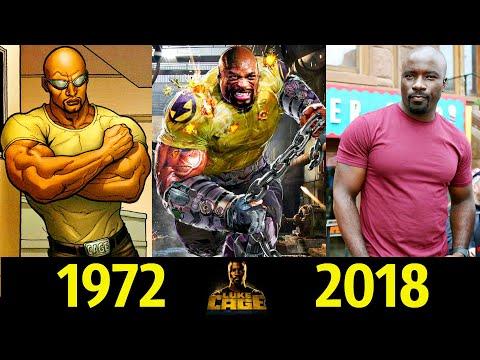 💪 Люк Кейдж (Силач) - Эволюция (1972 - 2018) ! Все Появления Карла Лукаса 👊!