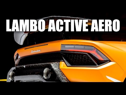 Lamborghini's Brilliant Active Aerodynamics - Huracan Performante