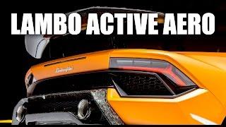 Lamborghini's Brilliant Active Aerodynamics - Huracán Performante