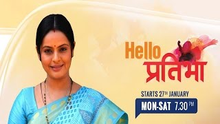 Zee TV's New Tv Serial 'Hello Pratibha'