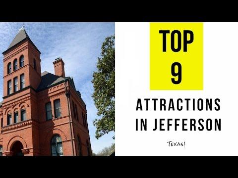 Top 9. Best Tourist Attractions in Jefferson - Texas