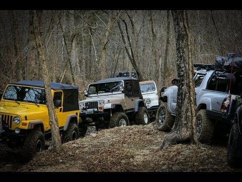 Wheelin' World Off Road Park and Camping in Eureka Springs, AR-MEO Adventure 2018's first stop.