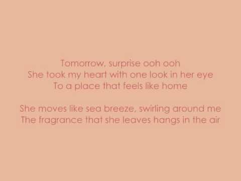 Tyrone Wells - Sea Breeze (with lyrics!)