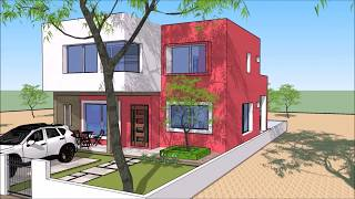 casa plano 9x12