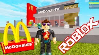 I BUILD MY OWN QUICK FOOD RESTAURANT ? ROBLOX ? McDonald's Tycoon
