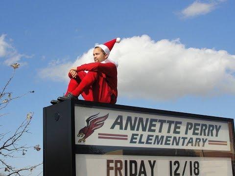 Elf on a Shelf 2018 -- Annette Perry Elementary School