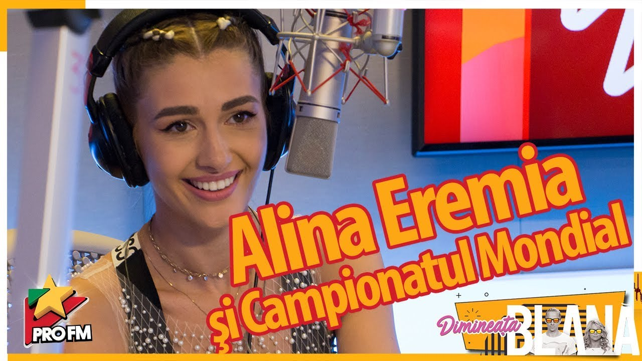 Alina Eremia şi Campionatul Mondial  | #DimineataBlana