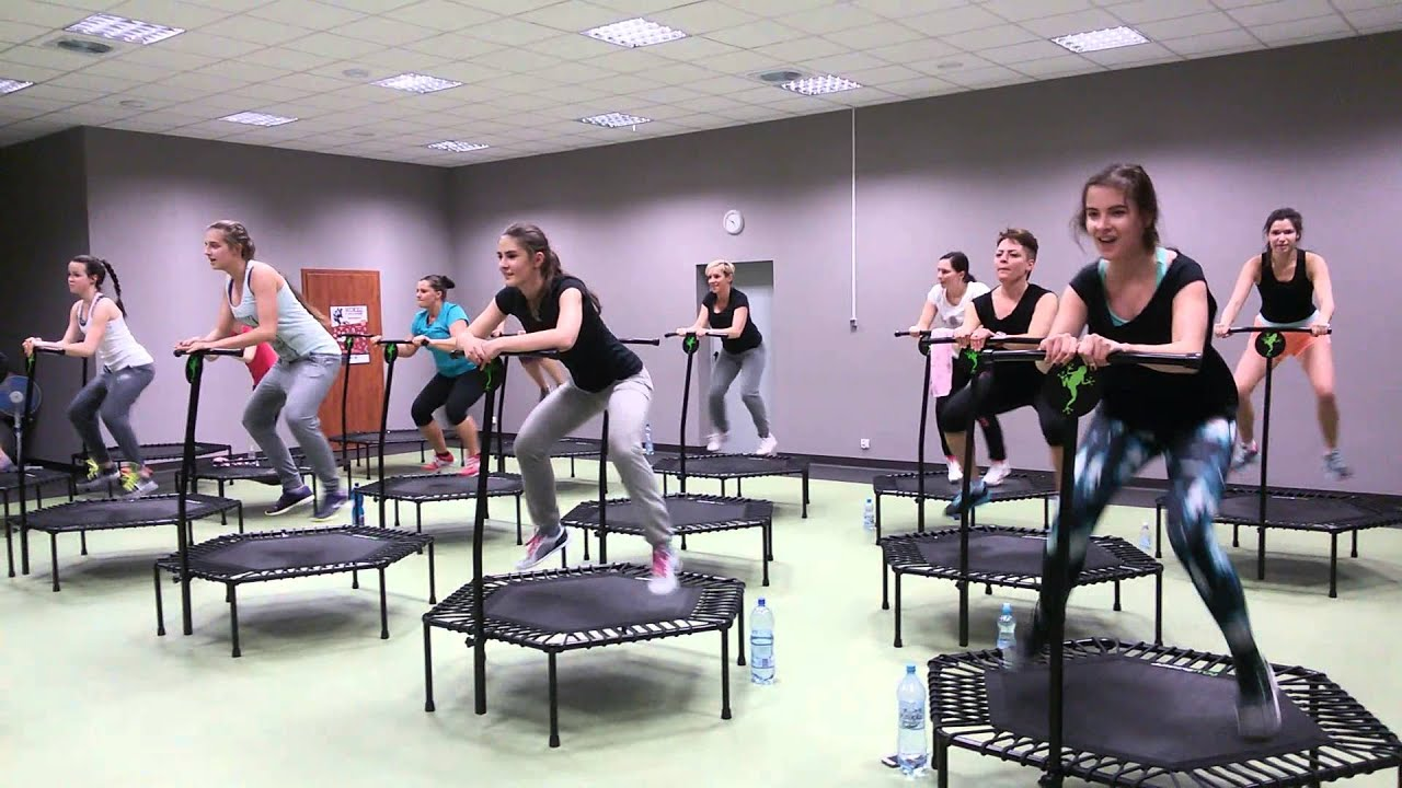 jumping frog trampoline fitness poland revital tychy. Black Bedroom Furniture Sets. Home Design Ideas