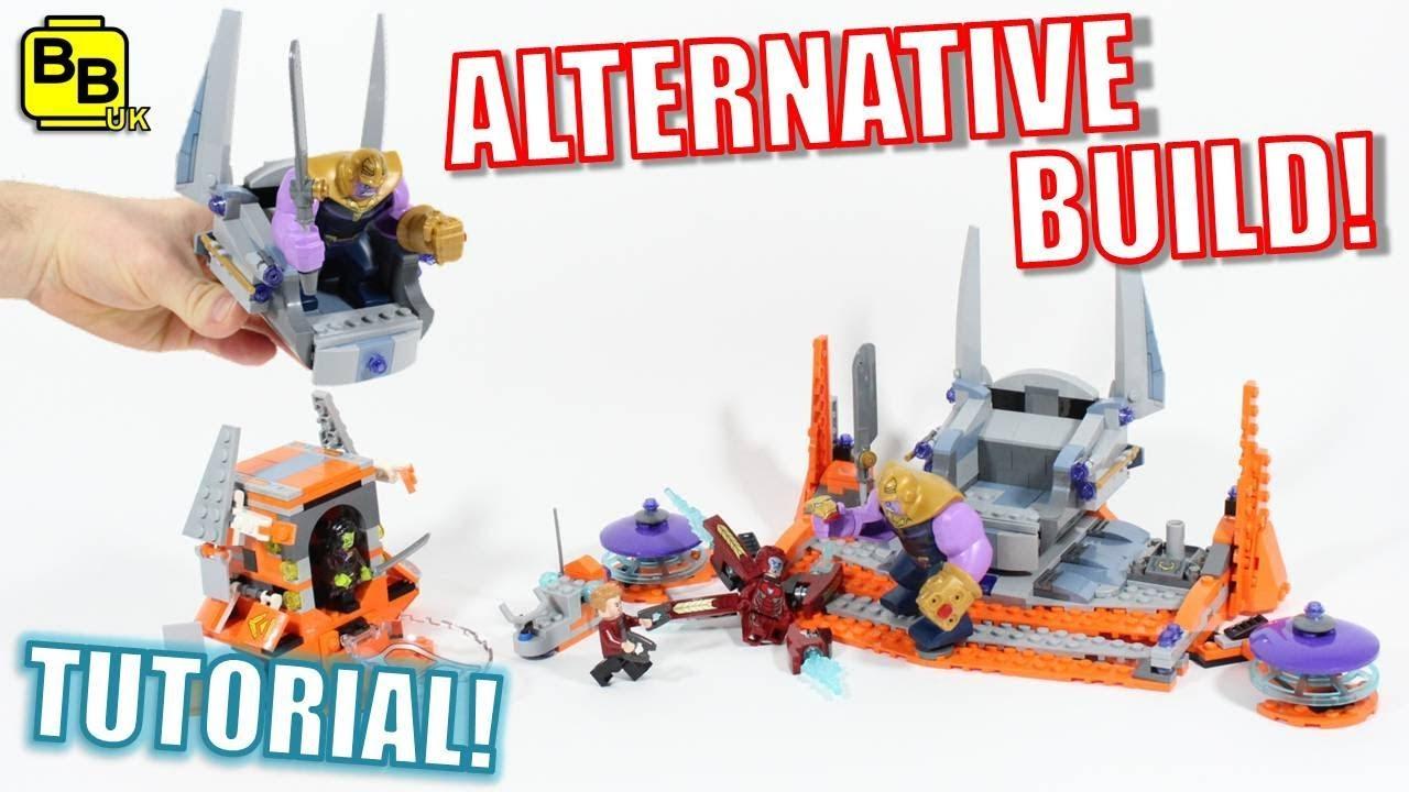 LEGO AVENGERS INFINITY WAR 76107 ALTERNATIVE BUILD THANOS