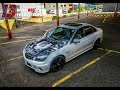 Mercedes Benz C63 AMG Exhaust Sound