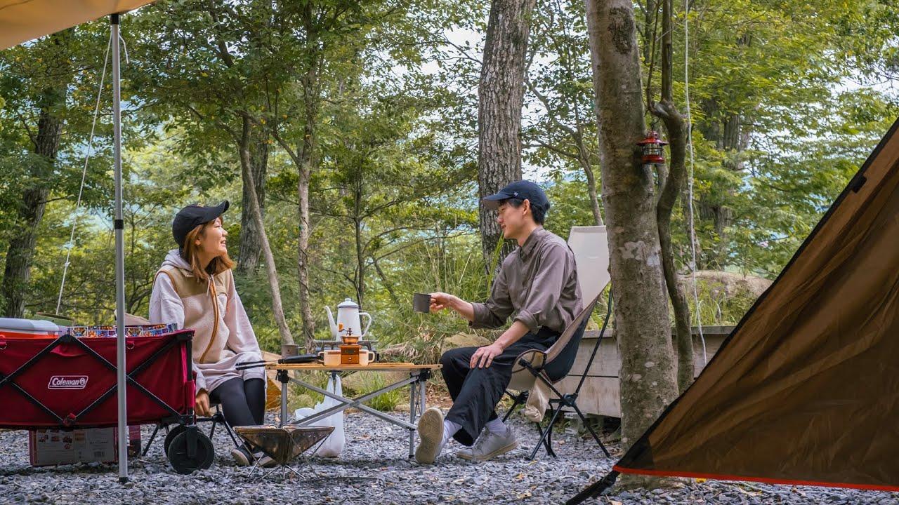 Camping with my sister ❘ Fujifilm X-T4, XF 18-55mm, PRO Neg. Hi